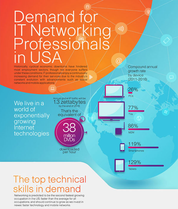 Demand for IT Networking Professionals in USA