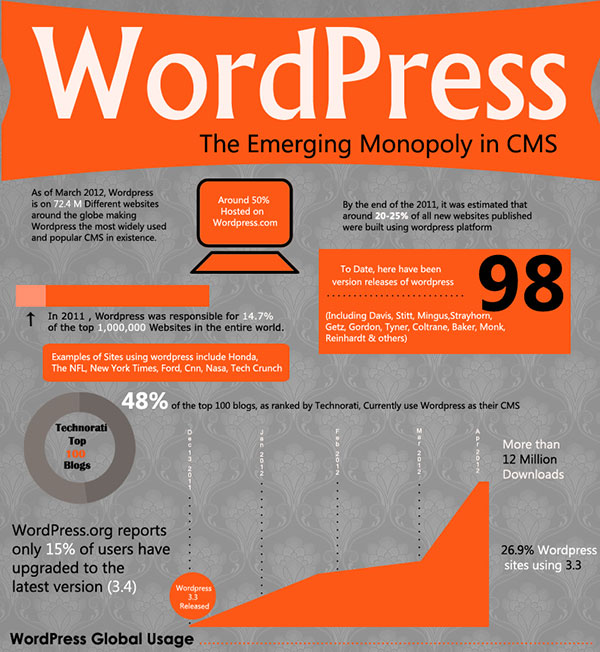 WordPress the Emerging Monopoly in CMS
