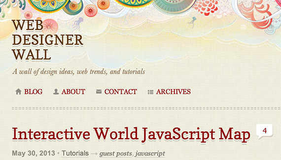 Webdesignerwall web design blog top blogs follow